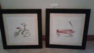 Set of 2 Children`s prints