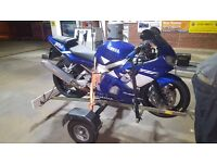 Yamaha R6 2001 not cbr, gsxr, triumph, ducati, rs, yz, suzuki, honda, bmw,