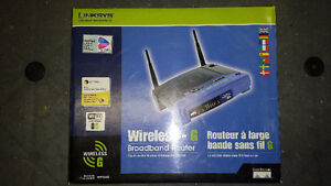 Linksys Router, Switch, and Wireless PCI Adapter