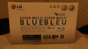 LG Super Multi-Blue Blu-Ray/CD/DVD Disk Re-writer