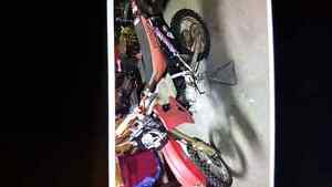 2001 Honda cr80 dirt bike for sale 90 bore