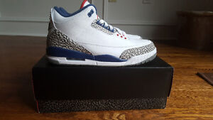 DS True Blue 3's Size 11 *LESS THEN RETAIL* *NIKE AIR*