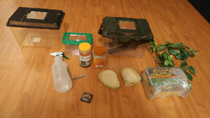 Reptile & Feeder Accessories (paid over $120)