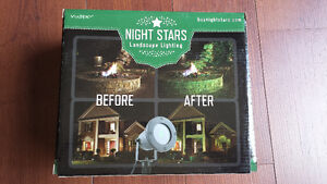 Night Stars Landscape Laser Green Light - New in Box