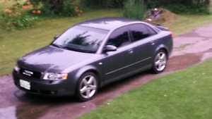 Trade 2002 Audi A4 for atv with plow