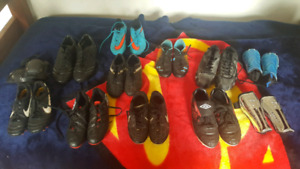 Soccer and baseball cleats