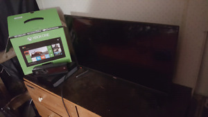 Xbox one and flat screen +kinect