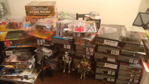 Star Wars, Marvel, DC, Hot Wheels action figures, toys and games