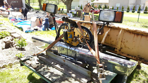 Myers plow complete setup  trade for winch