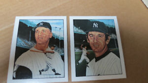 1983 50 years of Yankee all stars cards(2)