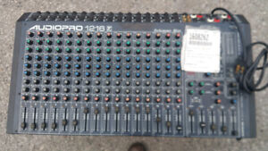 Audiopro 1216  Powered Mixer