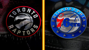 Toronto Raptors vs Philadelphia 76ers - Sun, April 2nd - 4 Seats
