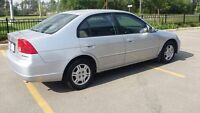 2001 Honda Civic- Low KMs **Safety & Etested**
