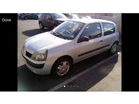 BREAKING Renault Clio 2004 1.2