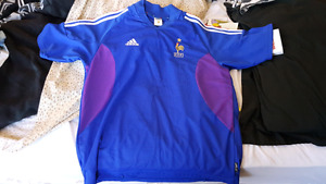 Authentic Vintage France football jersey