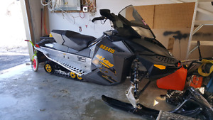 Skidoo 2008 500ss trade for old motorcycle
