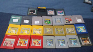 Gameboy/GBA console/games Pokemon metal gear r-type megaman SALE