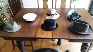 Hats selection of 6 - ideal for costumes
