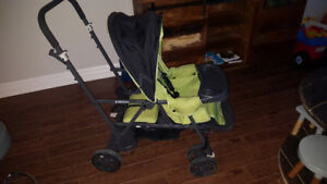 Caboose sit and stand stroller