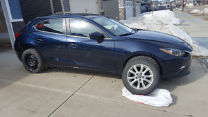 2014 Mazda3 GS Hatchback Summer/Winter Tires and Rims