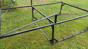 Boat/utility rack for smaller truck or trailer.