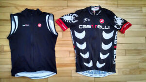 Bicycle Clothing / Vetements de velo - Castelli, Argon 18, plus