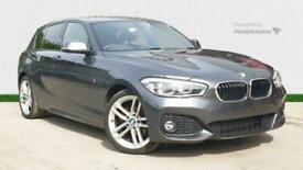 image for 2017 BMW 1 Series 118i [1.5] M Sport 5dr [Nav] Hatchback Petrol Manual
