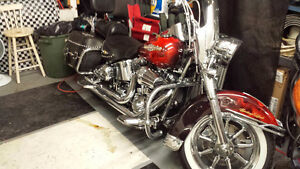 Awesome 2006 CUSTOM HD HERITAGE SOFTTAIL CLASSIC $17495 OBO