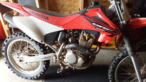 2005 Honda CRF 230F Looking to trade for larger motorcycle