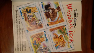 16 Winnie the Pooh 25th Anniversary Stamps and Story Cambridge Kitchener Area image 2