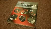 Briggs and Stratton repair manual new!