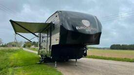 Eurocruiser 785 Lite Fifthwheel American Caravan RV Touring 5th wheel