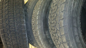 235/65/18 winter tires used
