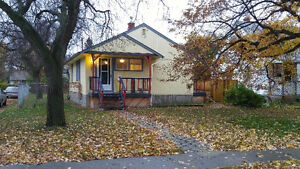 Great starter home or rental property! Double detached garage.