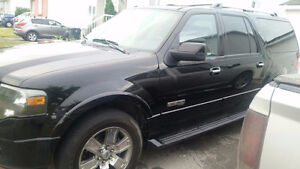 FORD EXPEDITION MAX 2007 7 PASSAGERS