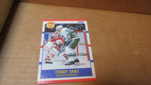 1990 NHL rookie cards,Score+Proset(10)