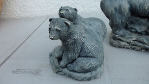 Polar Bear Carvings Large and Small $100 pair. Prince George British Columbia image 8