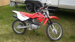 2013 Honda CRF100. Don't torture yourself with a dealer purchase
