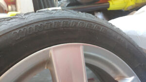Winter tires 205/60r16 92S /with mags