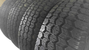 (4) Uniroyal Tiger Paw P175/70R13 Ice and Snow Tires