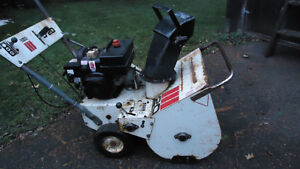 !!!!! 5 HP ROPER SNOWBLOWER  ELECTRIC START $100.00 FIRM !!!! London Ontario image 1