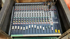 Soundcraft EFX 12 channel mixer with effects