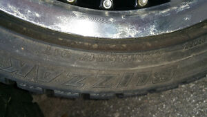 """17"""" snow tires and rims"""