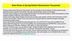 Solar - Free / Residential / Commercial / Off Grid Kitchener / Waterloo Kitchener Area image 3