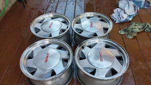 "Chevy/Gmc 15"" x7 Rims (2wd)"