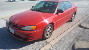 ****Reduced ****2003 Pontiac Grand Am GT1 Sedan