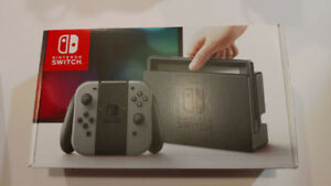 Nintendo Switch Console Grey - 100% BRAND NEW IN BOX + DELIVERY