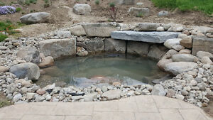 New Pond Install / New Water Feature Install London Ontario image 8