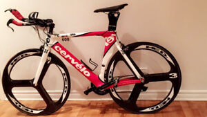 Cervélo 54 - P2 with HED 3 wheels