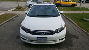 Honda Civic White 2012 for sale by owner